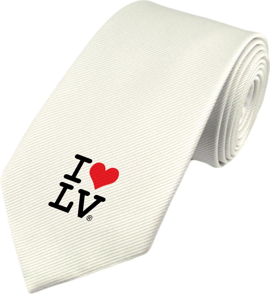 I Love LV® Classic White Tie