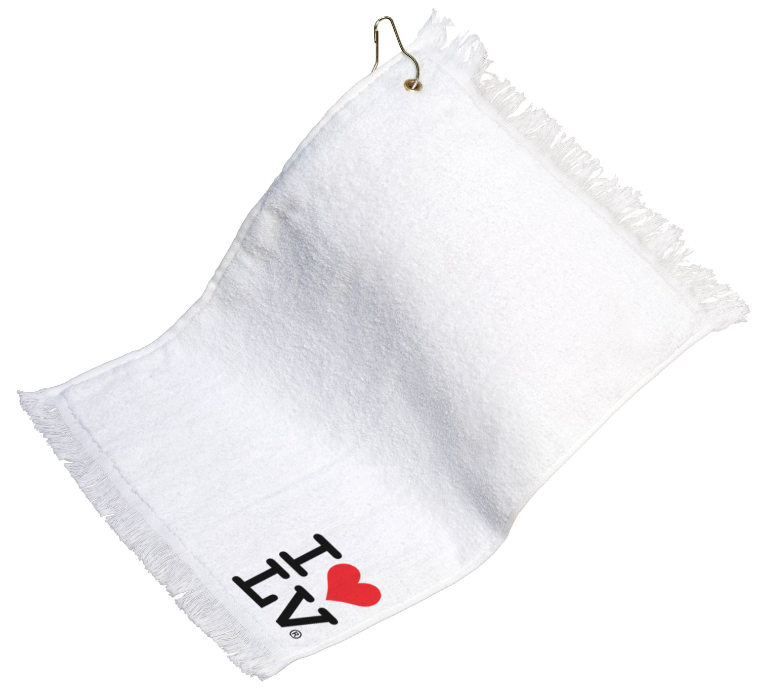 I Love LV® Classic Golf Towel