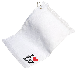 I Love LV® Classic Golf Towel