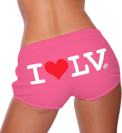 I Love LV® Classic Pink Shorts