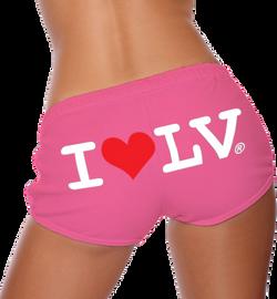 I Love LV® Classic Pink Shorts