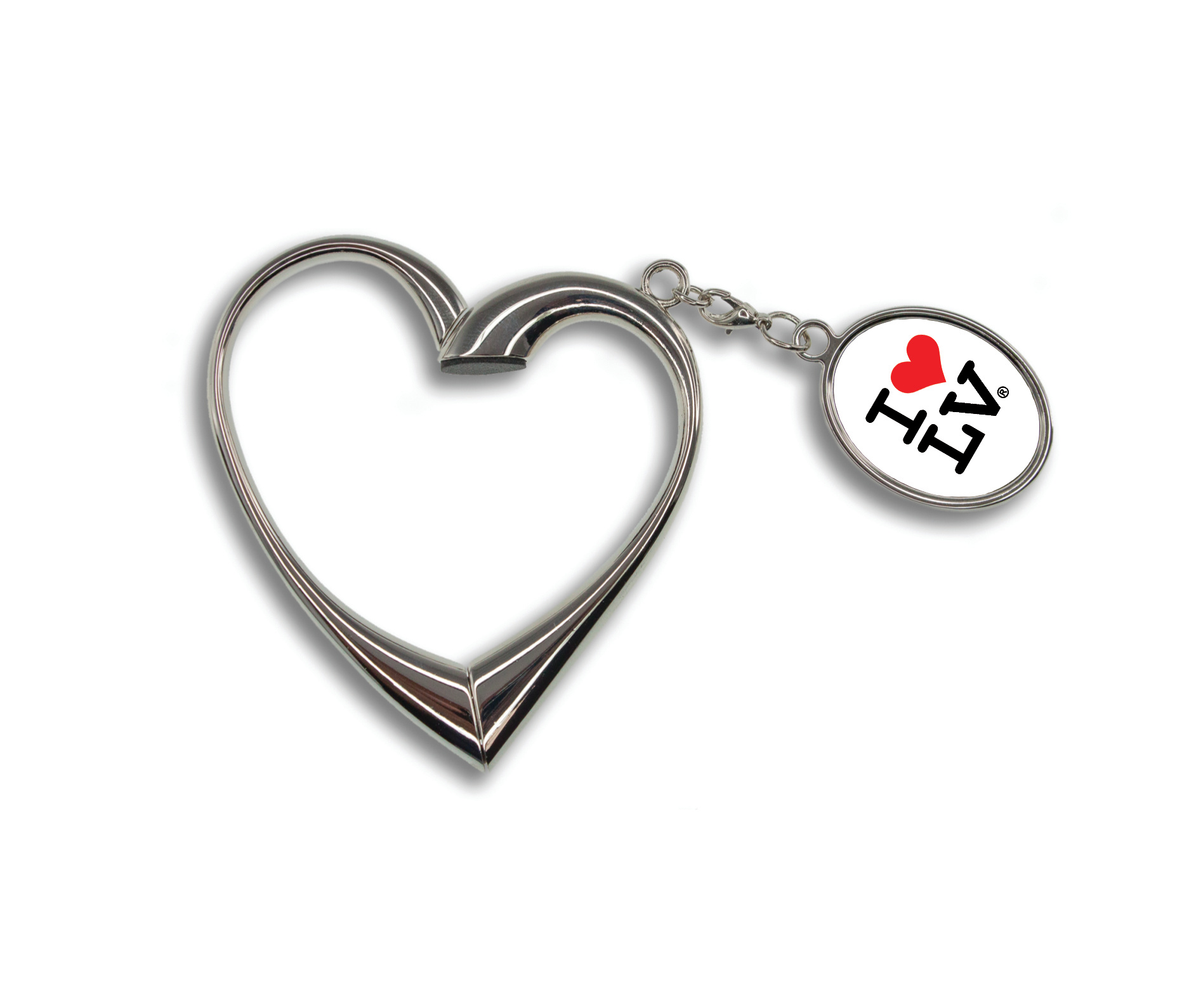 I Love LV® Heart Keychain