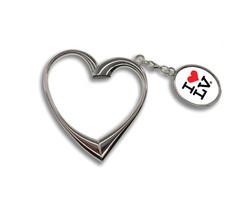 I Love LV® Heart Keychain