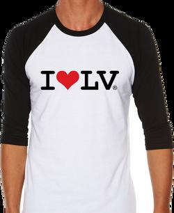 I Love LV® Classic Ringer T-Shirt