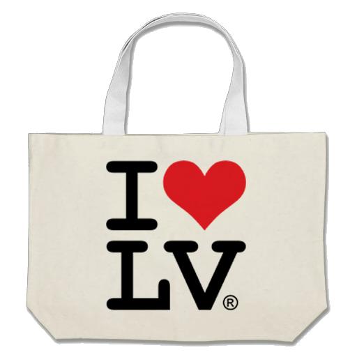 I Love LV® Classic Square Tote