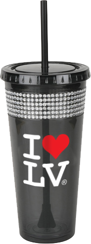 I Love LV®  Classic Bling Cup