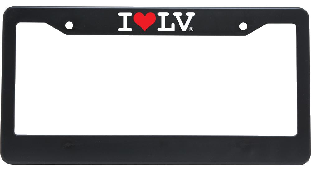 I Love LV® Classic License Frame