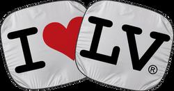 I Love LV® Classic Car Shades