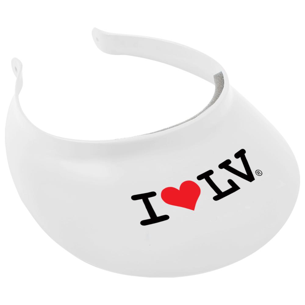 I Love LV® Classic White Visor