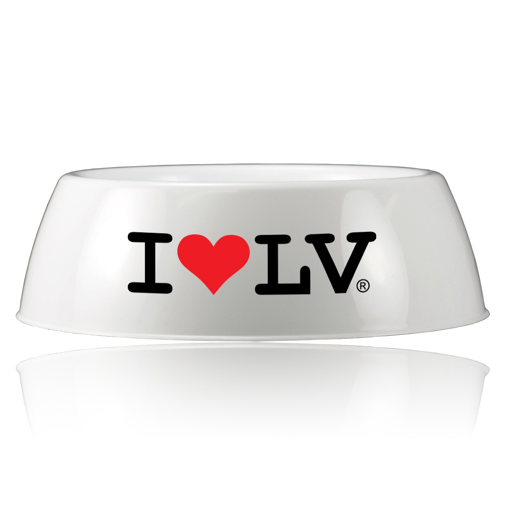 I Love LV® Dog Bowl