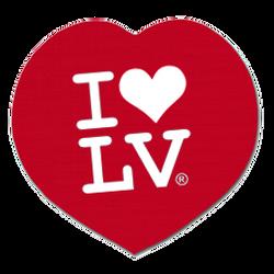 I Love LV® Classic Coaster