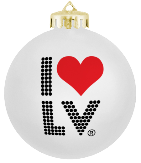 I Love LV® Lights Christmas Ornament