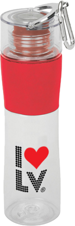I Love LV® Lights Red Travel Cup
