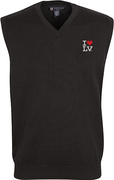 I Love LV® Classic Black Golf Vest