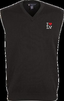 I Love LV® Classic Black Golf Vest