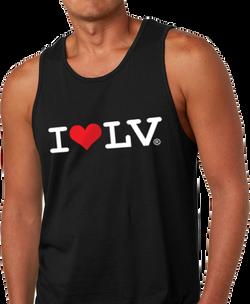I Love LV® Classic Men's Black Tank