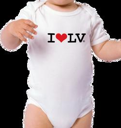 I Love LV® Classic Baby Onesie
