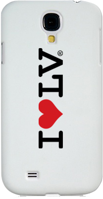 I Love LV® Classic Galaxy Phone Case