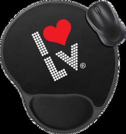 I Love LV® Lights Computer Mousepad
