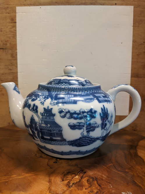 Painted Tea Pot