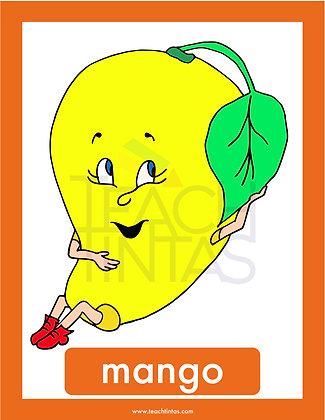 Fruits & Vegetables (color-spanish)