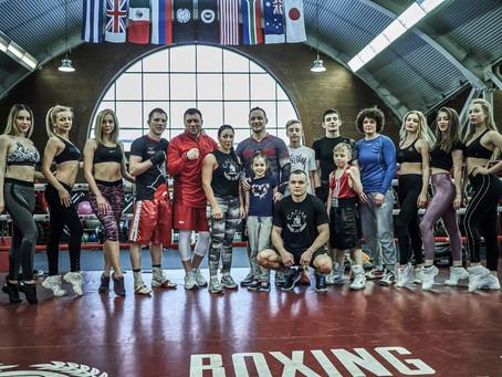 Открытый ринг 23 февраля в Академии Бокса Лужники.
