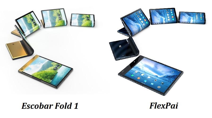 Внешний вид Escobar Fold 1 и FlexPai
