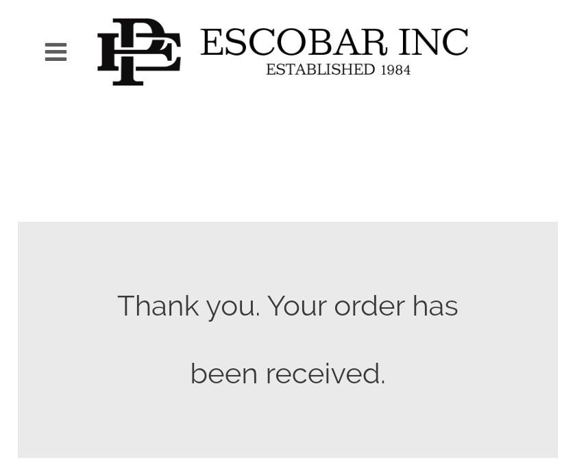 успешная покупка телефона Escobar Fold 1