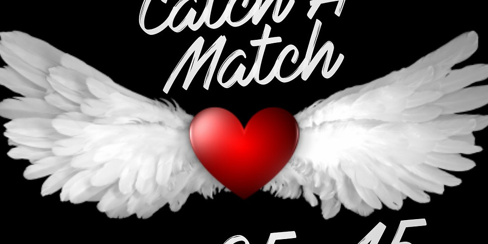 Catch A Match Speed Dating Cocktail Party (ages 35-45)