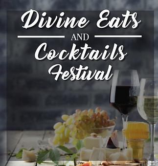 Divine Eats  Cocktails Festival LOGO WIT