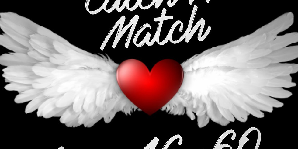 Catch A Match Speed Dating Cocktail Party (ages 46-60)