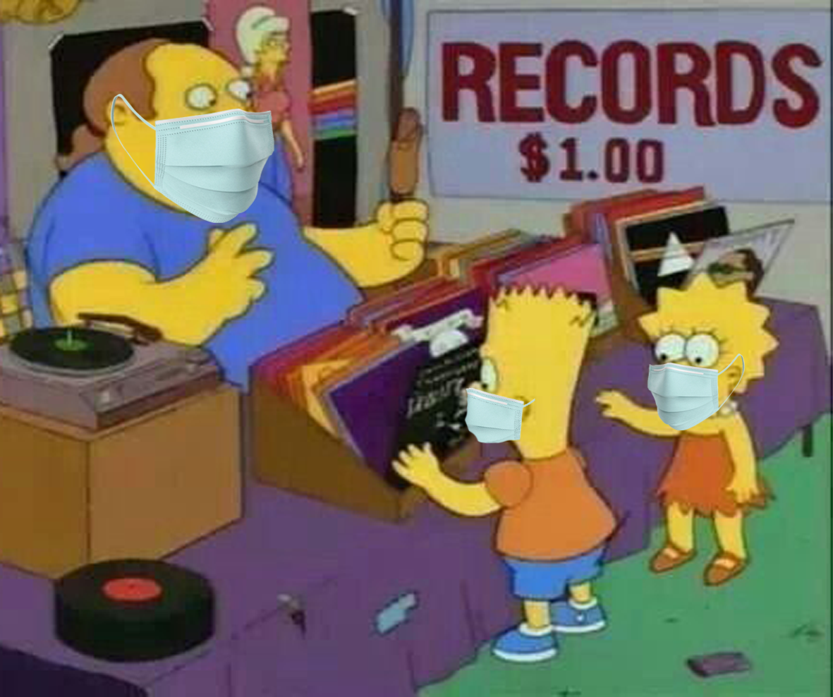 Record Digging Appointments
