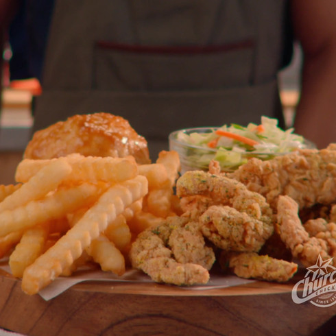 Church's Chicken - Signature Garlic Butter Shrimp N Tenders
