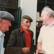 Junior Crehan, Paddy Killoughrey and Muiris Ó Rócháin.