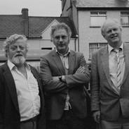 Tom Munnelly, Harry Hughes and Muiris Ó Rócháin, 1987.