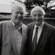 Muiris Ó Rócháin and P Joe Hayes 1993.