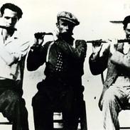 John Falsey, Joe Cuneen and Michael Falsey, 1940s.