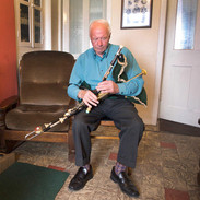 Michael Falsey pictured in his home near Quilty 2010.