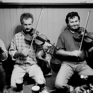 Kieran and Terry Crehan playing in D'Arcy's of Mullagh 1995.