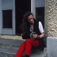 A concertina student 1992.