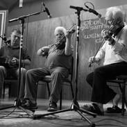 Peadar Ó Riada, Eamon McGivney and John Kelly 2013.