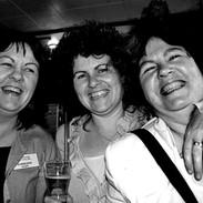 Jacqueline, Marion and Bernadette McCarthy 2004.