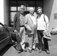 Paddy Glackin, Jimmy O'Brien and Caoimhín Ó Raghallaigh.