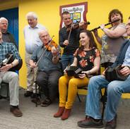 Séamus Ó Rócháin, Eamon McGivney, Harry Hughes, John Kelly, Niall Byrne, Edel Fox, Neansaí Ní Choisdealbha and Jack Talty 2012.