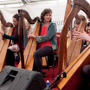 Laoise Kelly at the 2012 harp recital.