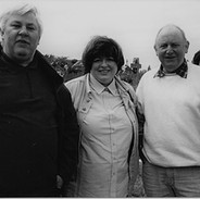 Brian and Sinéad Mullen, Frank Harte.