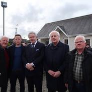 Mick O'Connor, Sean McKeon, Christopher Ennis, Harry Hughes and Éamon McGivney.
