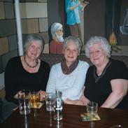 Mary Smith, Mary MacFee and Rhona Lightfoot.