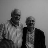 Muiris Ó Rócháin and Cathal McConnell.