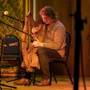 Paul Dooley playing in the end of week Muiris Ó Rócháin Memorial Concert.